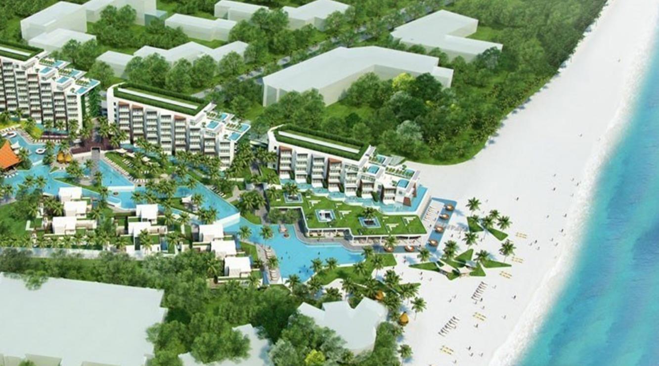 Không gian xanh dự án Chung cư Sun Group Hạ Long