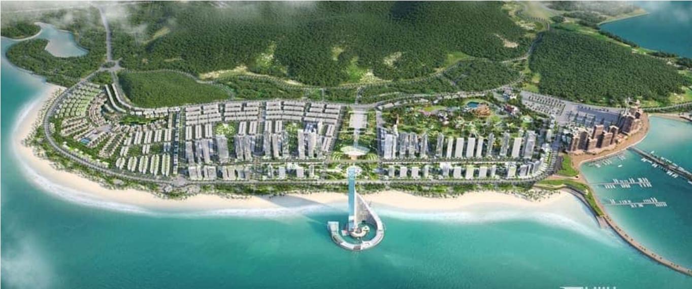 Không gian dự án Chung cư Sun Group Hạ Long